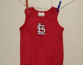 STL sun bubble in white or red great for cardinals fans toddler stl