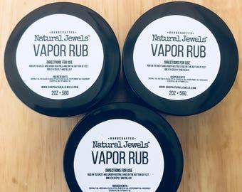Cold & Cough Decongestion Vapor Rub