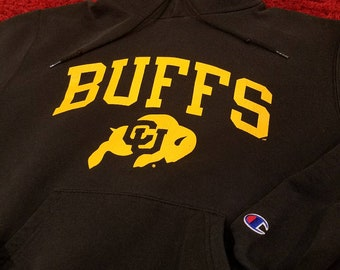 Colorado CU Buffs Authentic Champion pull over hoodie