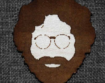 Jerry Garcia Face Fridge Magnet