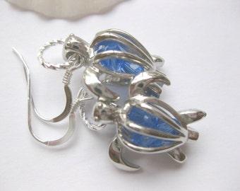 Turtle Earrings turtle  jewelry Animal Jewelry Boho earrings dangle drop  earrings