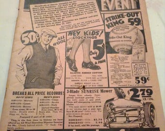 1932 Sears Roebuck Red Bargain Book