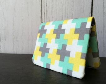 Card Wallet - Mint Cross