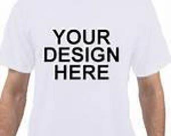 Custom adult Tshirt