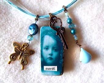 Worth Ragamuffin necklace,  No. 64