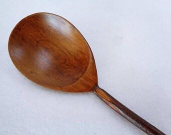 VJ410 : Tea Scoop,Japanese long handled wooden Tea Scoop, hand made in Japan