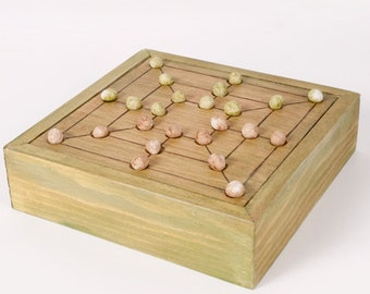 Ancient Roman Game Board Nine Men's Morris - Nine Men of Morris