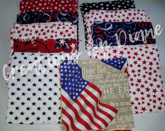 Americana Charm pack #120 count four inches square