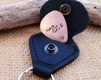 Valentine's Day Gift - Custom Guitar Pick - I Pick You - Valentines gift Husband- Custom personalized guitar pick