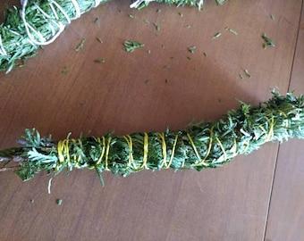 Hand wrapped Cedar smudge sticks