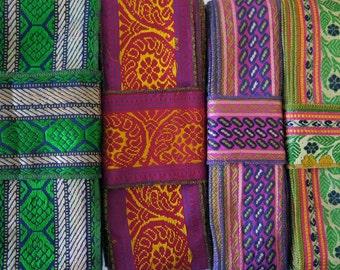 Colorful Sari borders, Sari Trim SR359