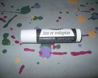Lux et Voluptas Gold and Pink Lipstick