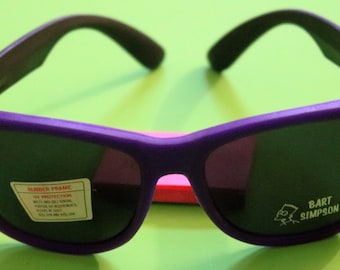 Vintage Adult, Hard Rubber Purple Frames with Black Arms, Bart Simpson Sunglasses#2