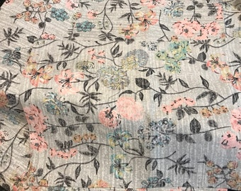 Floral fabric - kit add on item