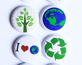 Go Green/Recycle Flair