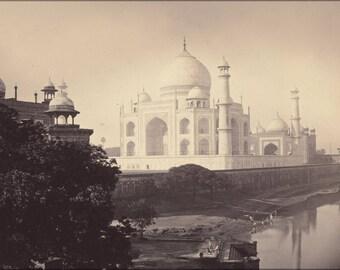 Poster, Many Sizes Available; Taj Mahal, Agra, India 1870