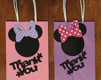 10 Minnie Mouse Party Bags