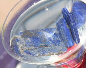 Lapis Lazuli, Small Flat  - Blessed