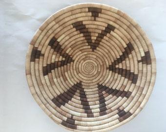 Native American Basket Pima Tray