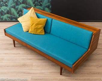 60s Daybed, sofa, couch, 50s, vintage (409093)