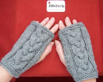 Fingerless gloves, Fingerless mittens, Arm warmers, Hand knitted mittens, Hand knit, Hand made, Knitted wrist warmers,