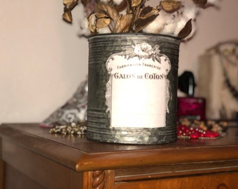 Cotton Tin (Galon De Coton)