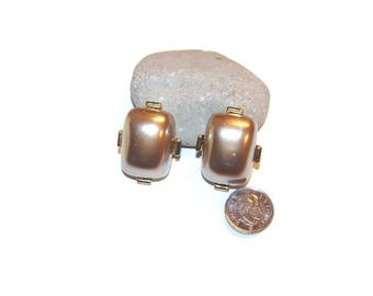Vintage bold gold and metallic clip earrings, Bold earrings, Clip earrings, Statement earrings