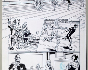 Judge Dredd. The Natural Page 1 INKS