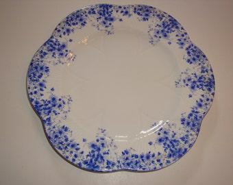 "Shelley England DAINTY BLUE 8 3/4"" Plate ~ Luncheon"