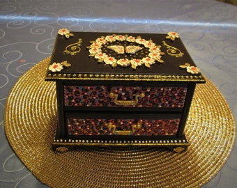 Butterfly Jewelry Box, One of a kind