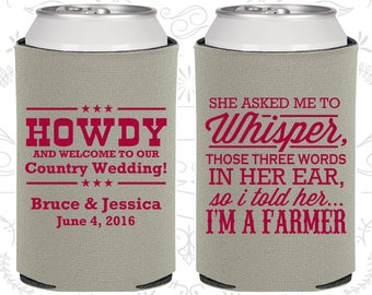 She Asked me to Whisper, Those three little words in her ear, so I told her I am a farmer, Country Wedding, Farm Wedding (545)