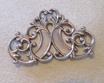Fancy Filigree Work Antique Silver Finish