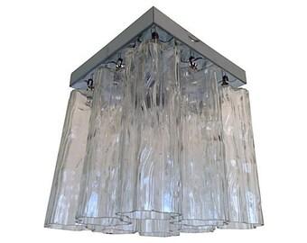 1960s Murano Glass Ceiling Light