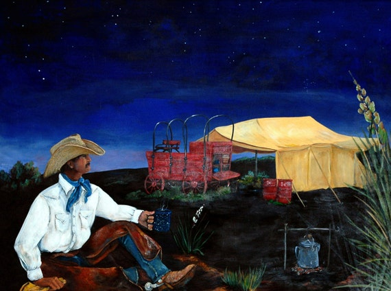When Day is Done.....canvas art print