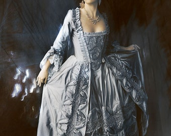 Custom Marie Antoinette Rococo Wedding Gown MADE TO MEASURE