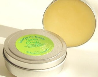 KNITTERS BALM with LANOLIN ~ Choose Your Scent ~ Knitter's Balm ~ Salve ~ Knitters