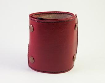Wrist Wallet Leather Wrist Wallet Women, Wrist Wallet Cuff Bracelet Wallet, Leather Cuff Bracelet for Women, Unique Gifts for Women, RstBlk