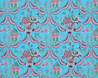 50101 -   Jennifer Paganelli -Sunny Isle Kat in Sky color - 1/2 yard