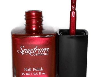 SCREAM QUEEN Red Nail Polish  Halloween Shade