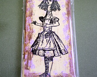 Tall Alice Mini Canvas Magnet - Two by Four Inch
