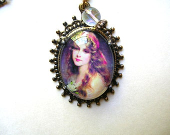 Gypsy Necklace - Fortune Teller Necklace