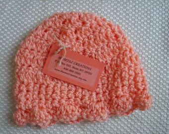 Toddler Girls Peachy Keen Bonnet Hat - 267