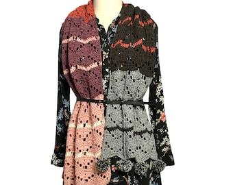 Fusion Shawl Crochet Pattern