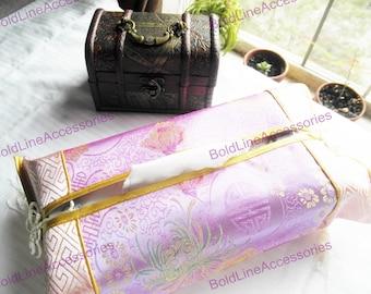 Silk Tissue Box Holder