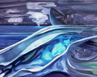Oil painting original collectible decor art handmade