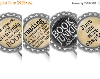 ON SALE - Book Quotes, Metal Bookmark, Book Club Gifts, Party Favors, Quote Bookmarks, Planner Accessories, Reading, Bookworm for Her, Booki