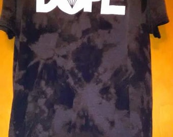 Acid wash dope shirt