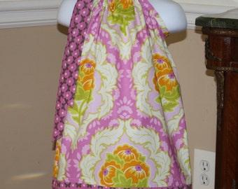 SALE purple la ti da Pillowcase dress toddler easter dress, hot pink lavender, purple, orange, white,  3, 6, 9, 12, 18 mo 2t, 3t, 4T