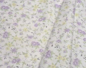 "a beautiful cut of cotton fabric ""flowers"""