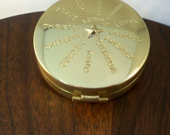 Custom engraved Compass, Eagle Scout or Baptism gift,